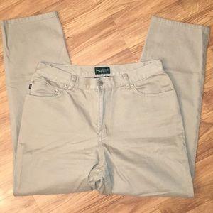 Ralph Lauren Tan/Khaki Mom Jeans